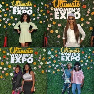 "We cut-out this 2' x 3' ""Ultimate Women's Expo"" emblem for their event in Atlanta on June 2-3."