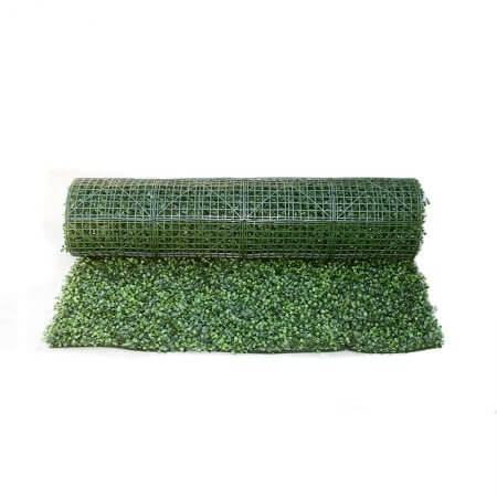 4 by 8 foot foliage hedge rolls