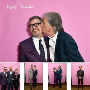 We printed this 6' x 7' backdrop for Paul Smith's intimate dinner with Gary Oldman at Chateau Marmont on April 10, 2018 in Los Angeles.