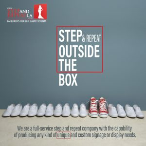 Step and Repeat outside the box!