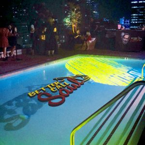 Better Call Saul custom pool float!