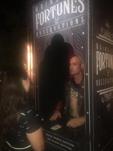 Fortune Teller Booth Prop