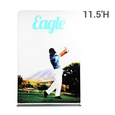EZ Extend 5 by 11 and a half foot double-sided graphic display