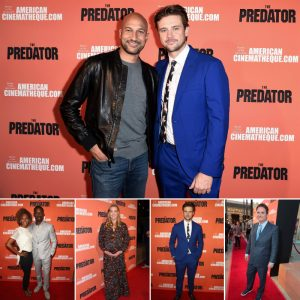 This impressive, seamless 8' x 10' media wall was perfect for the star-studded premiere of The Predator.
