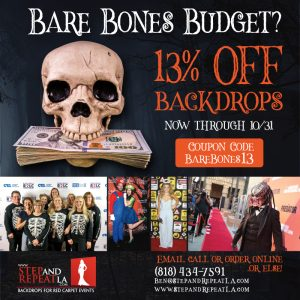 Happy Halloween! 13% Off all backdrops!