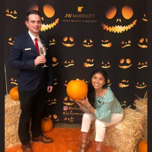Halloween by JW Marriott Santa Monica...What is your scariest face?