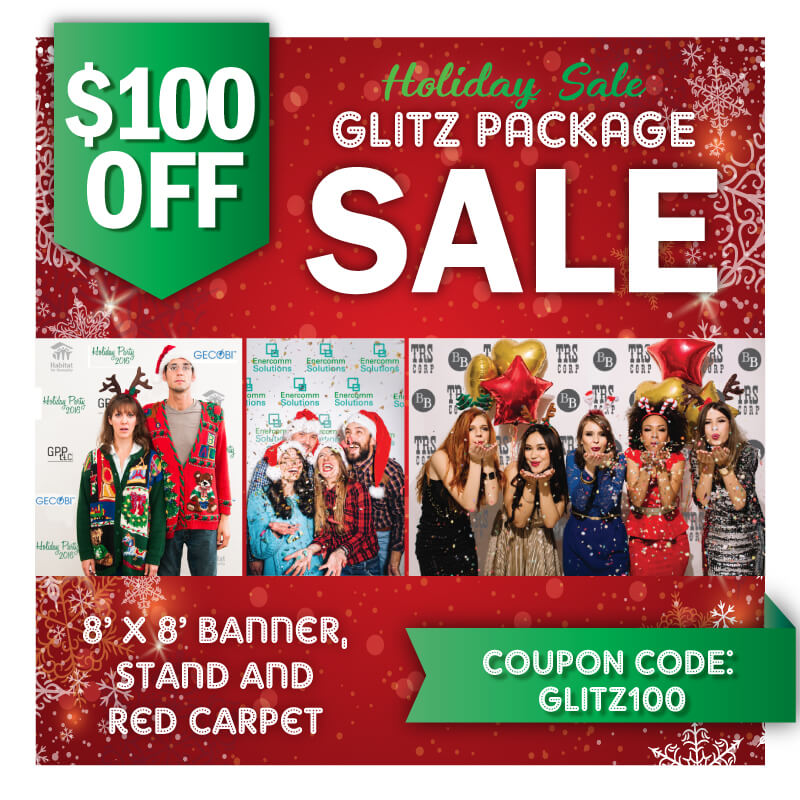 Holiday Glitz package sale! $100 Off