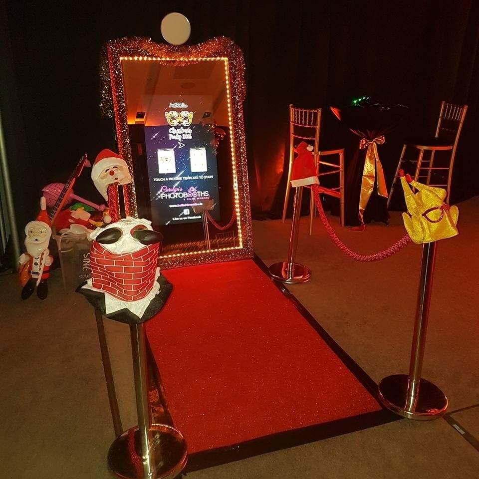 Magic Mirror Photo Booth Step And Repeat La