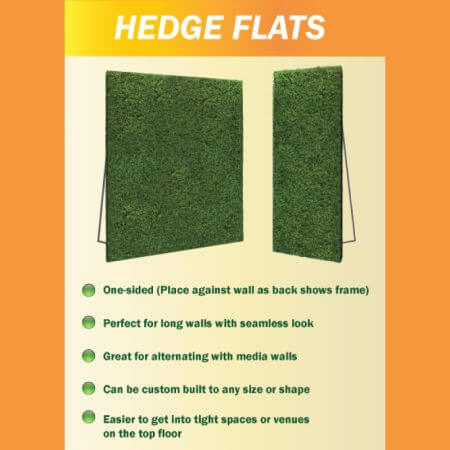 Hedge flat information