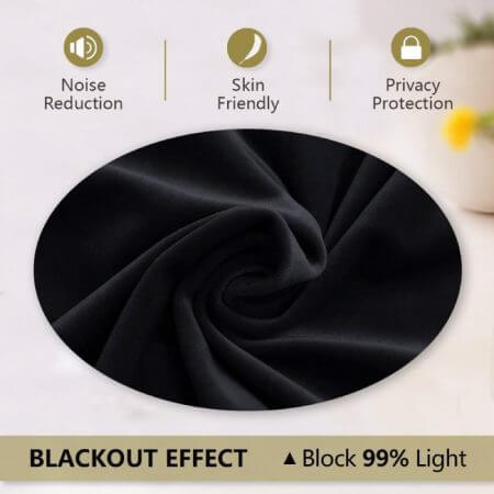 Velvet Blackout Curtain Panels - $39