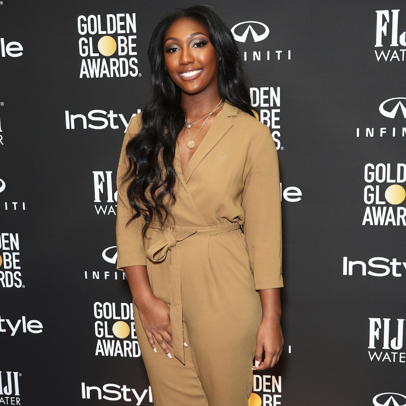 Isan Elba being named the 2019 Golden Globes Ambassador