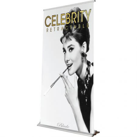 celebrity retractable banner stand