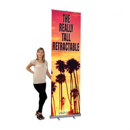 Really Tall Retractable Banner