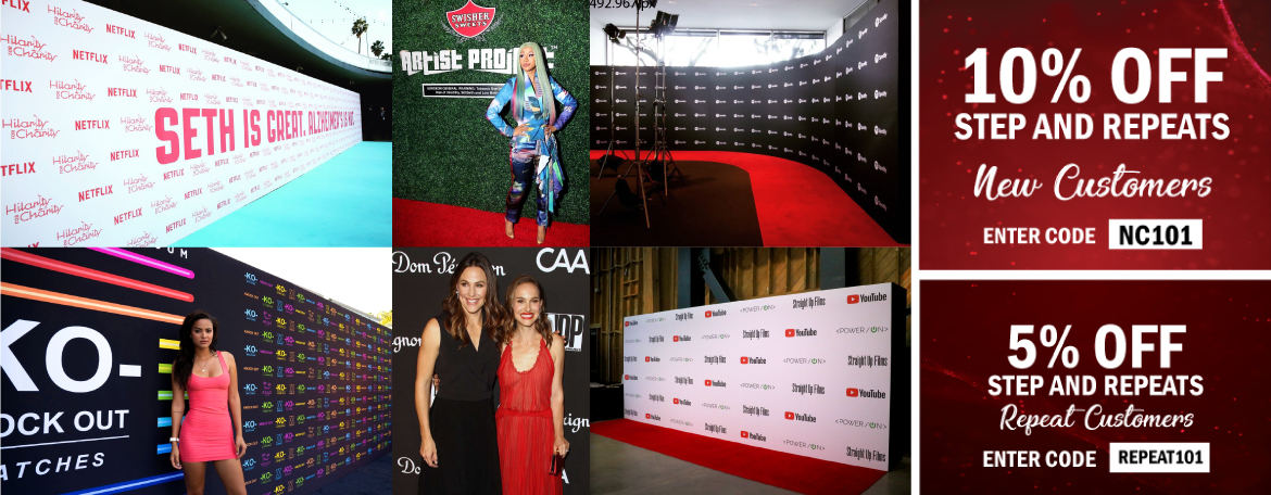 Step and Repeat LA for Red Carpet Events