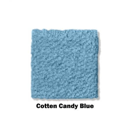 Cotton Candy blue clearance carpet