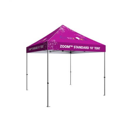 Standard Zoom 10' canopy tent.