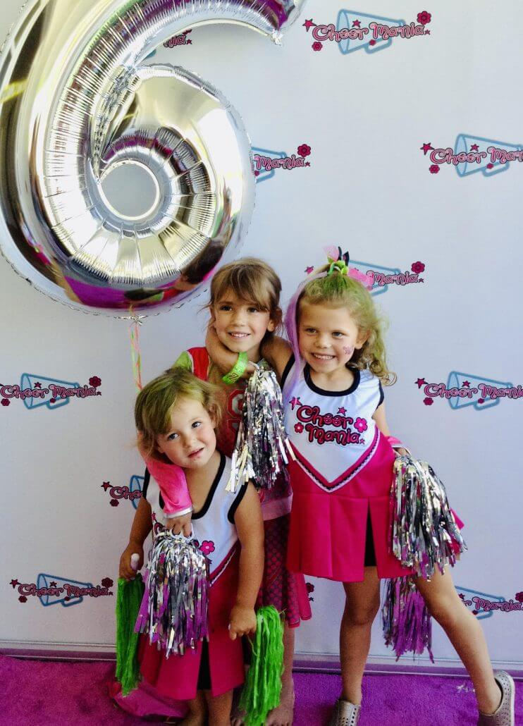 Cheer Mania uses us for their step and repeat backdrops!