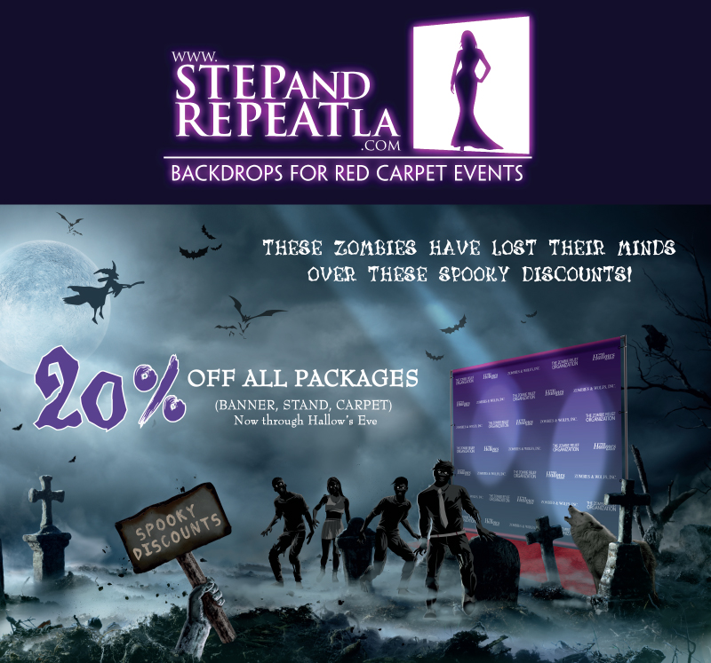 Happy Halloween! Save 20% on all packages! Use code: Spooky20Web