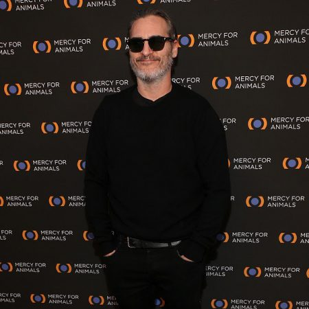 Joaquin Phoenix is showing his support for animals.