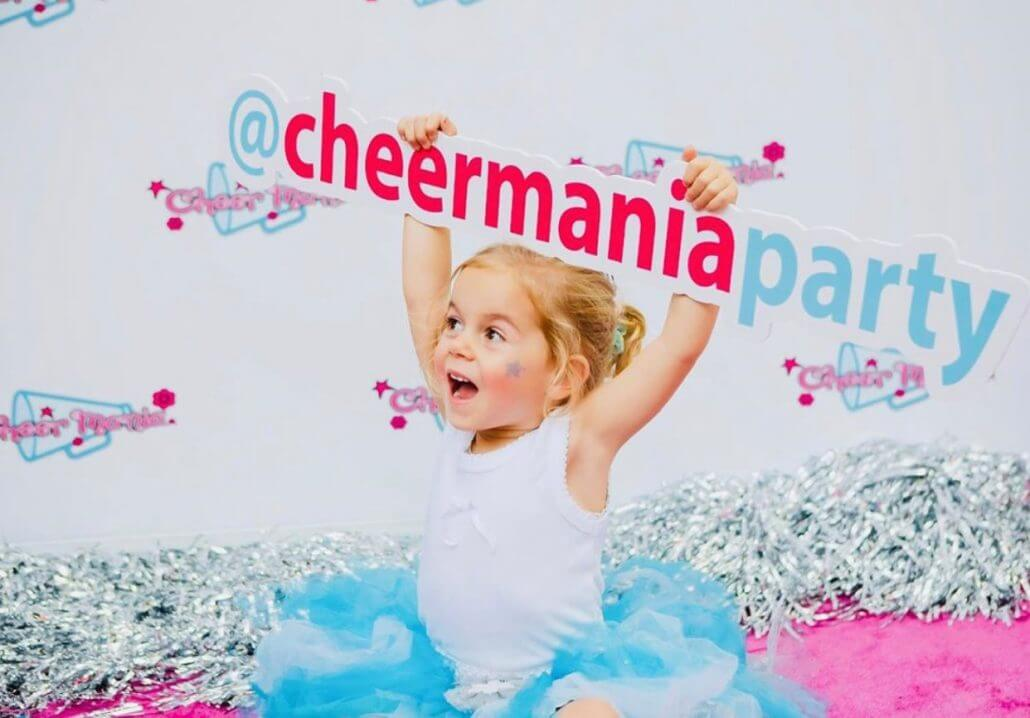 Cheer Mania party planners for kids!