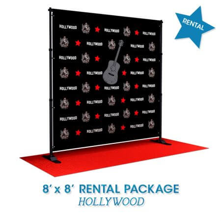 Hollywood Rocks Rental Package