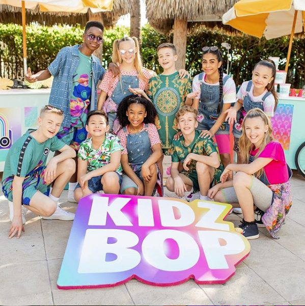 """Here's one of our custom pool floats for the KidzBop """"Dance Monkey"""" video!"""