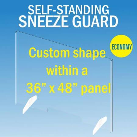 sneeze guard large