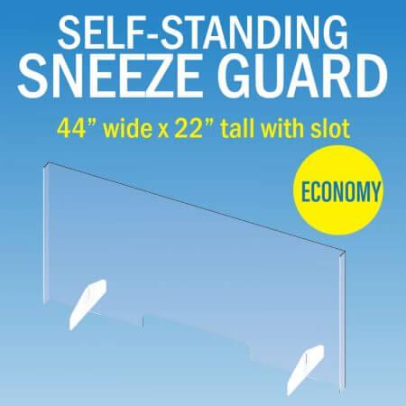 sneeze guard acrylic