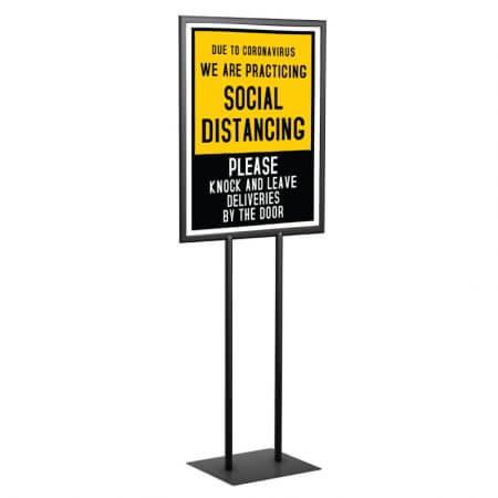 22x28 sign holder