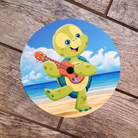 Disney Turtle 'Olu Aulani Floor Decal