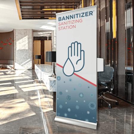 bannitizer in lobby