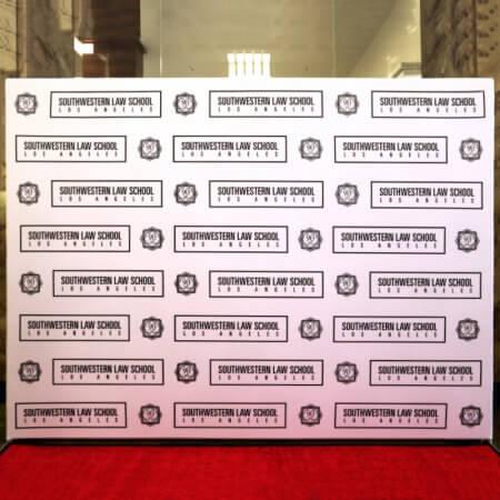 southwestern law school 8x10 fabric stretch display backdrop master